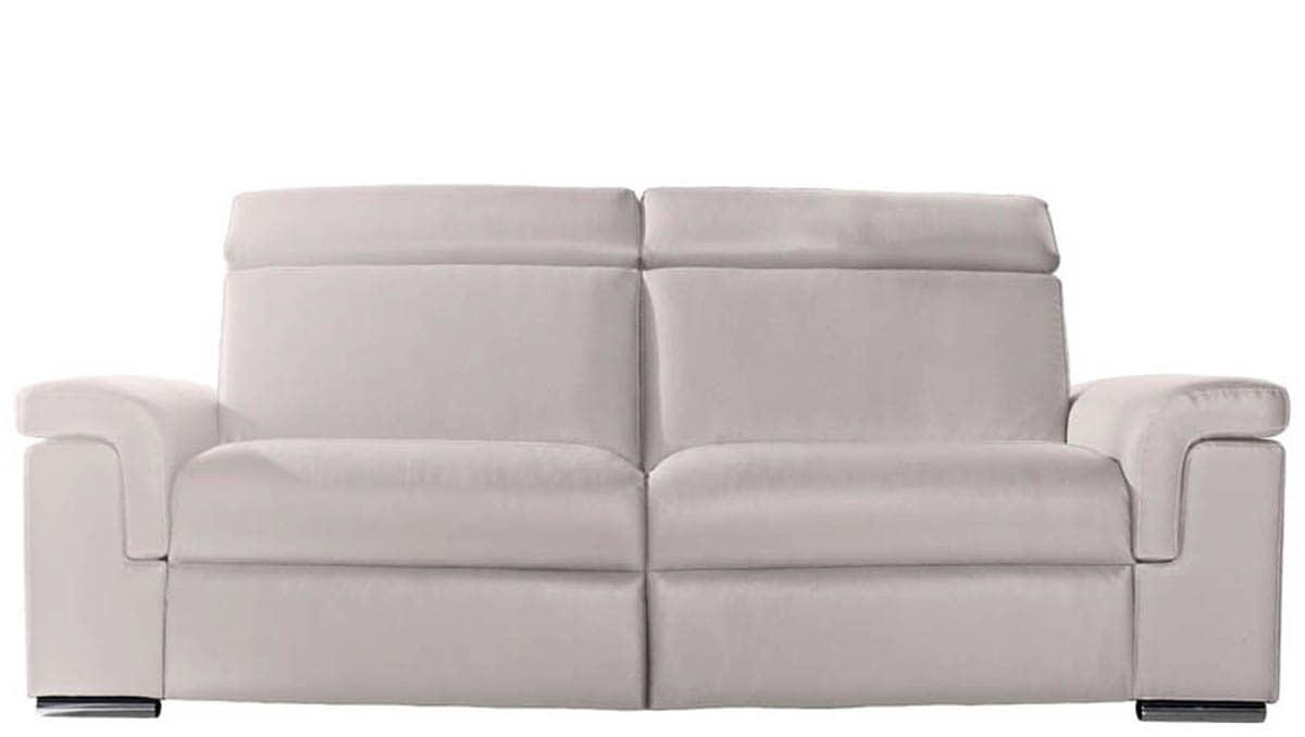 Sofas piel interesting sofs de piel o cuero de colores - Marcas de sofas de piel ...